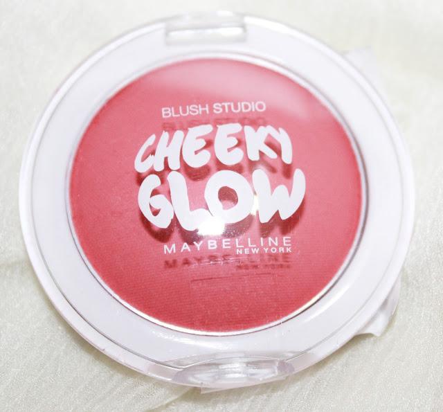 Maybelline Cheeky Glow Powder Blush Fresh Coral Review