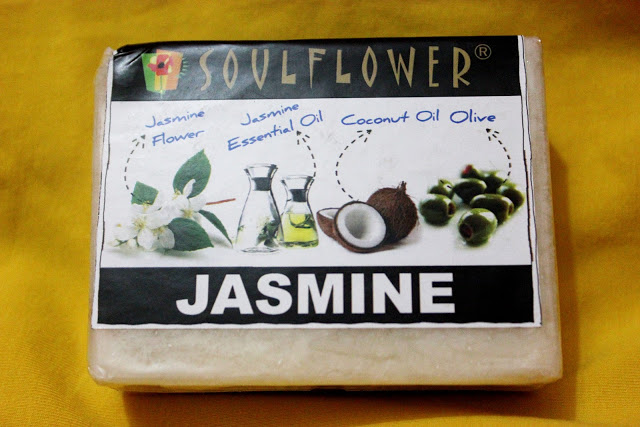 Soulflower Jasmine Soap Review