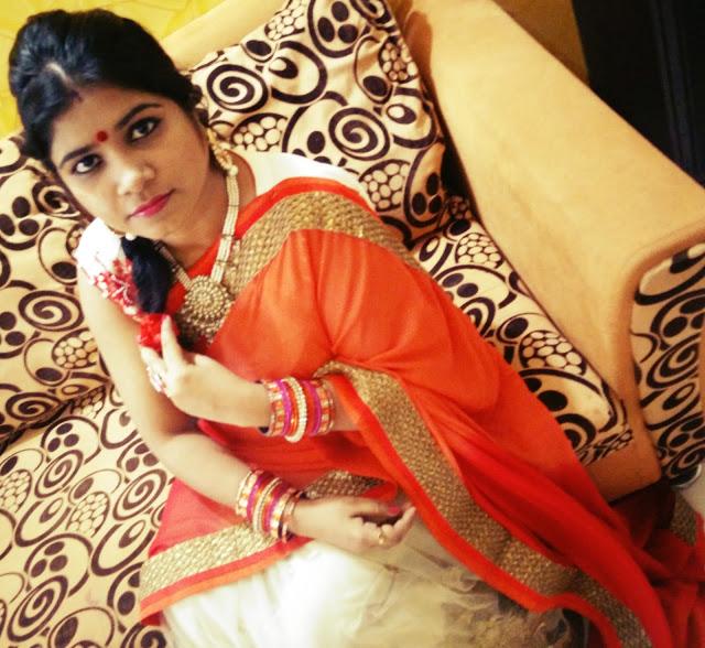 Diwali Saree OOTD: Feat Triveni