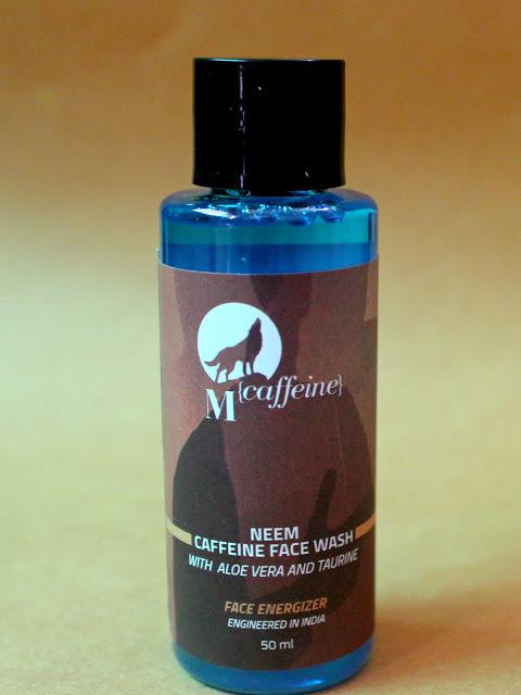 Mcaffine Neem Caffeine Face Wash: Quick Review