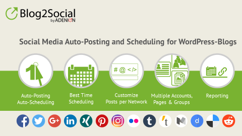 Social Media Auto Post & Scheduler: Blog2Social WordPress Plugin Review