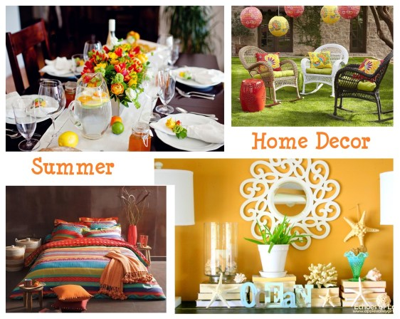 8 Easy and Budget Friendly Summer Home Decor Ideas
