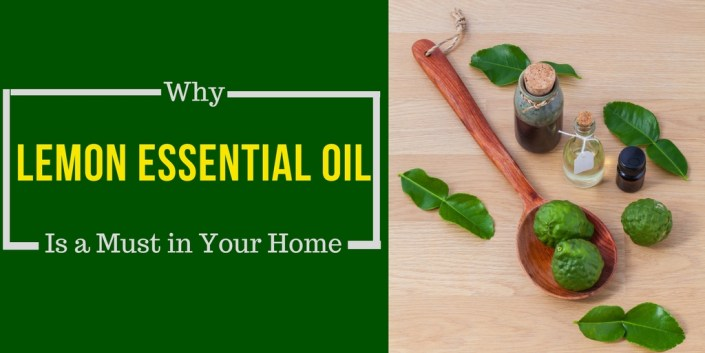 Why Lemon Essential Oil Is a Must in Your Home