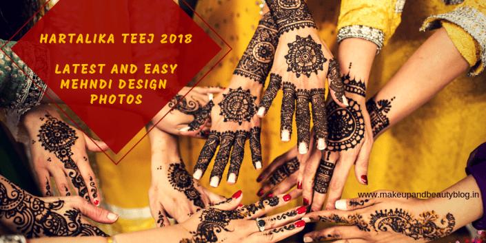Hartalika Teej 2018: Latest and Easy Mehndi Design Photos
