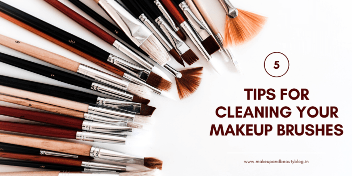 5 Tips for Cleaning Your Makeup Brushes