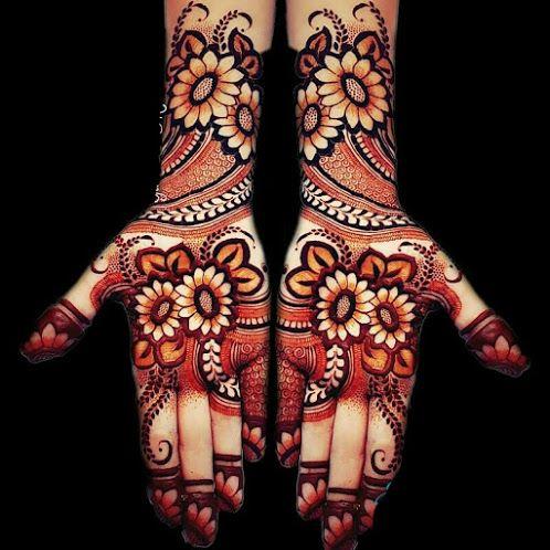 13 Latest Wedding Bridal Mehndi Designs Of 2021