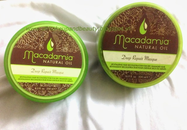 Macadamia Natural Oil Deep Repair Masque Review