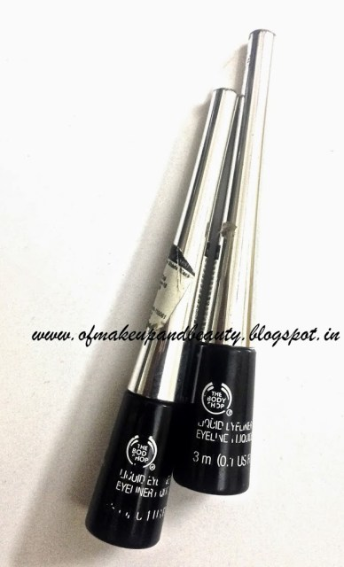 The Body Shop Liquid Eyeliner Review