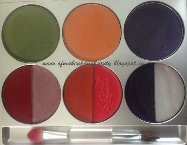 Motives Mardi Gras Lip and Eye Palette Review