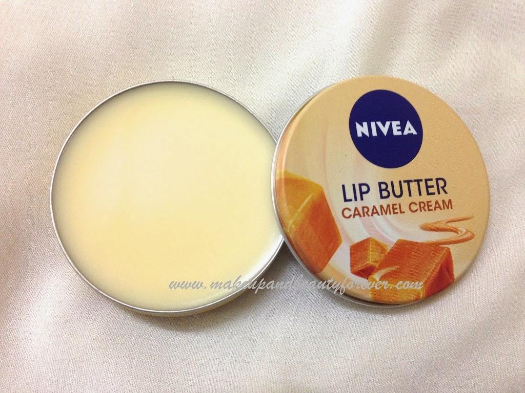 Nivea lip butter caramel cream