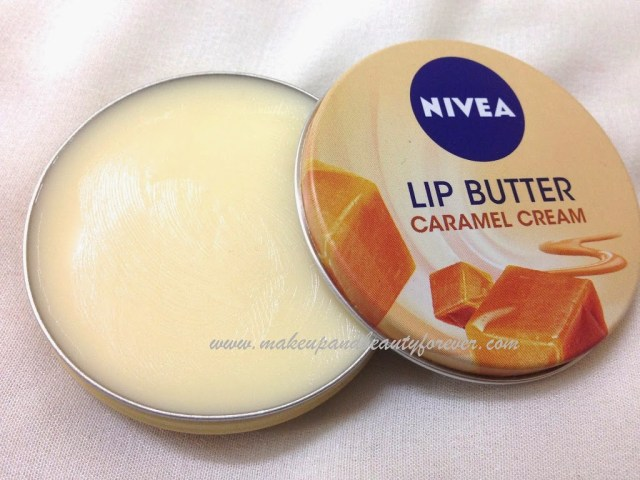 Nivea Lip Butter - Caramel Cream