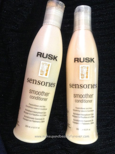 Rusk Sensories Smoother Passion Flower and Aloe Smoothing Leave in Conditioner