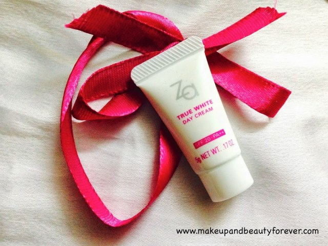 Za by Shiseido True White Day Cream