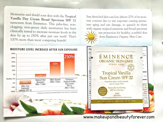 Eminence organics My Envy Box May 2014 MBF