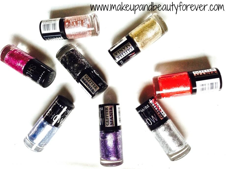 maybelline color show glitter mania