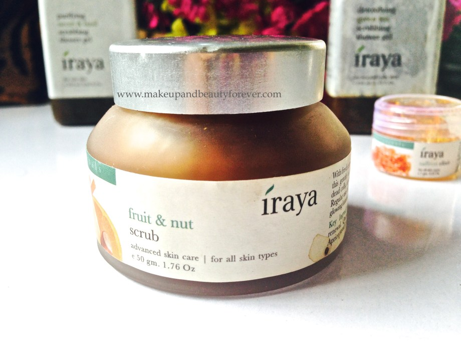 Iraya fruit and nut scrub