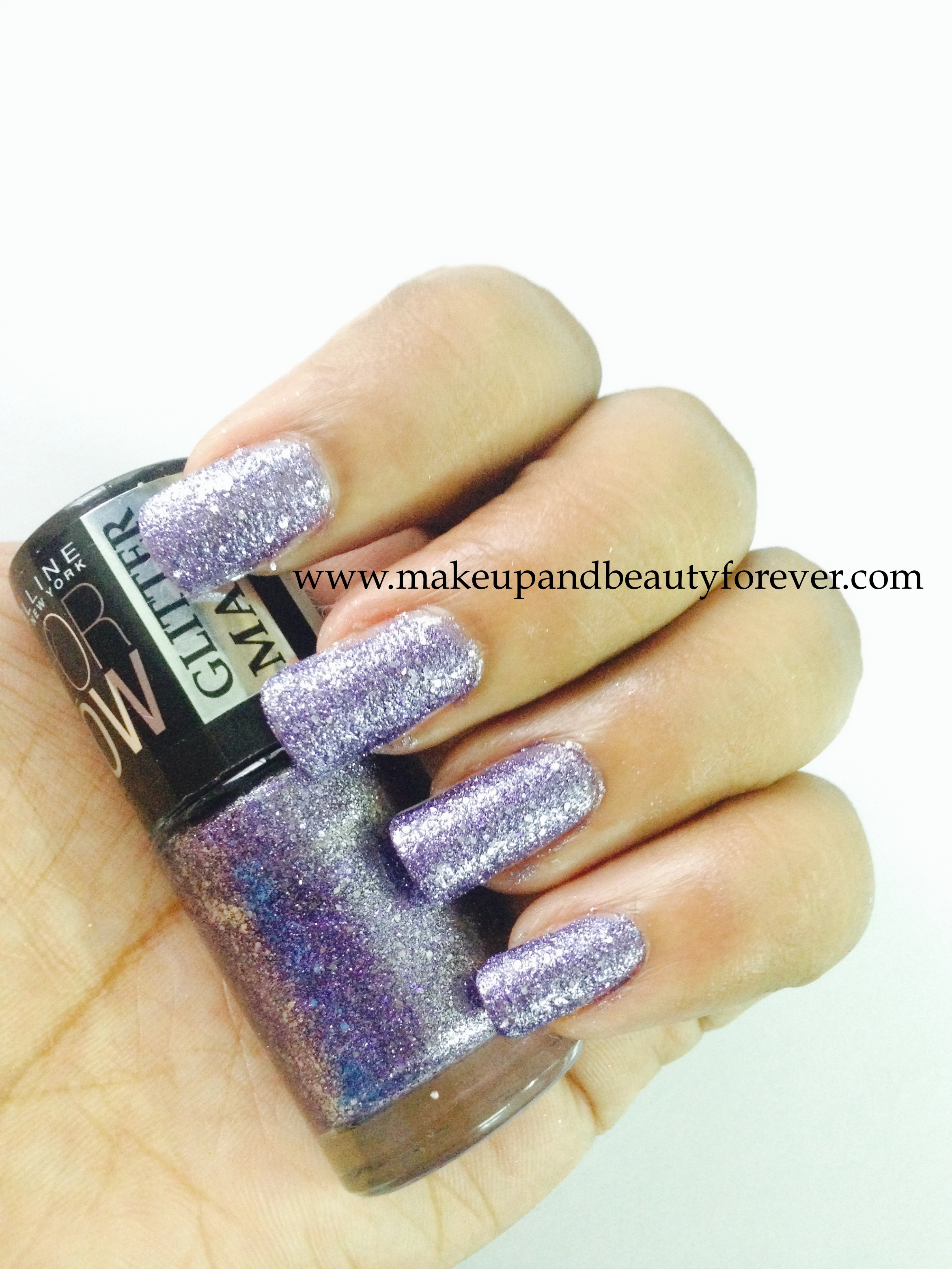 All Maybelline Colorshow Glitter Mania Nail Paints Review