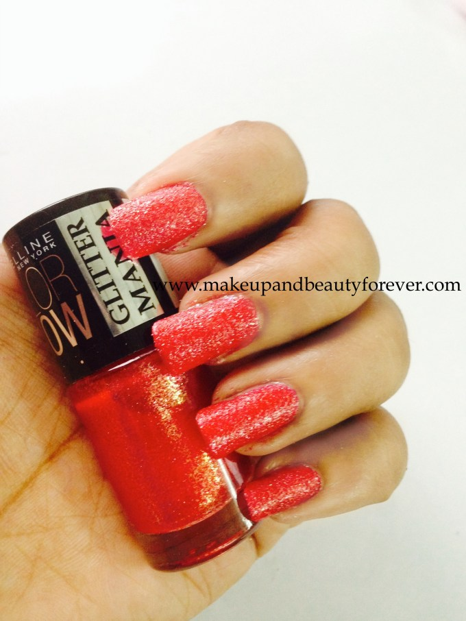 Maybelline ColorShow Glitter Mania Red Carpet 604