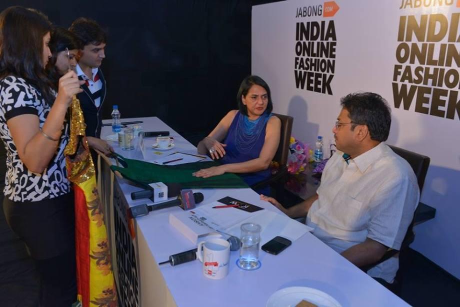 IOFW Designers Jury - Poonam Bhagat, Dr. Darlie Koshy