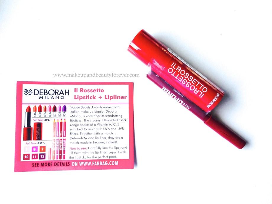 deborah milano lipstick