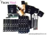 Faces Cosmetics Haul