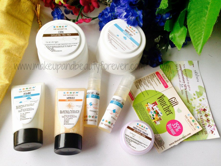 Beauty Wish Box by The Natures Co August 2014