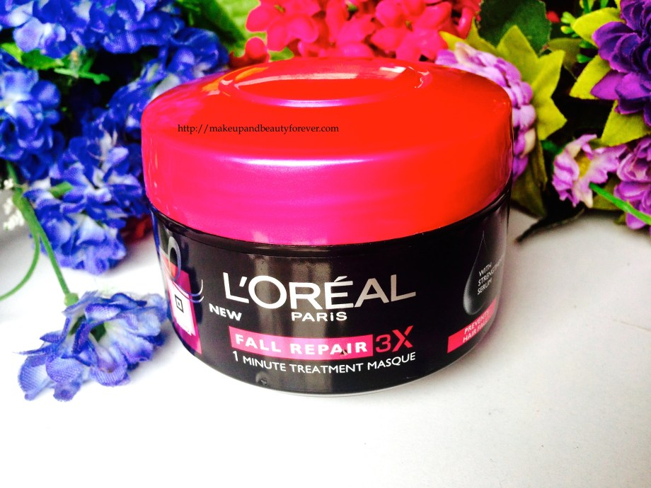 L'Oreal Paris New Fall Repair 3X 1 Minute Treatment Masque Review