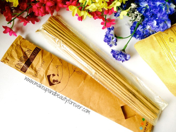 The Nature's Co Cinnamon Natural Incence Sticks