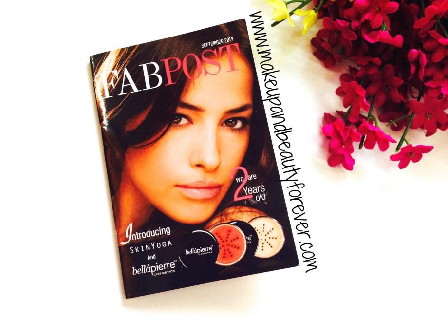 Fab Post Magazine September Fab Bag 2014