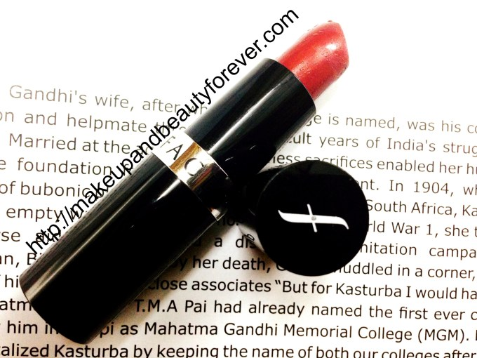 Faces Canada Go Chic Lipstick Claret Cup 416 Review and Swatch