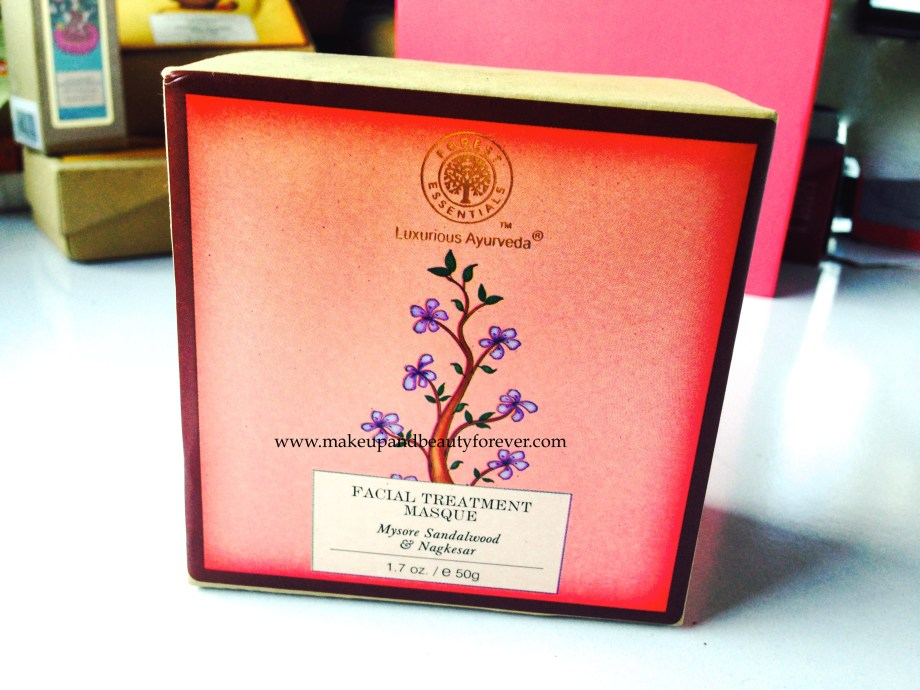 Forest Essentials Facial Treatment Masque Mysore Sandalwood and Nagkesar