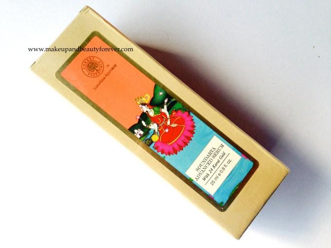 Forest Essentials Soundarya Advanced Serum with 24 Karat Gold