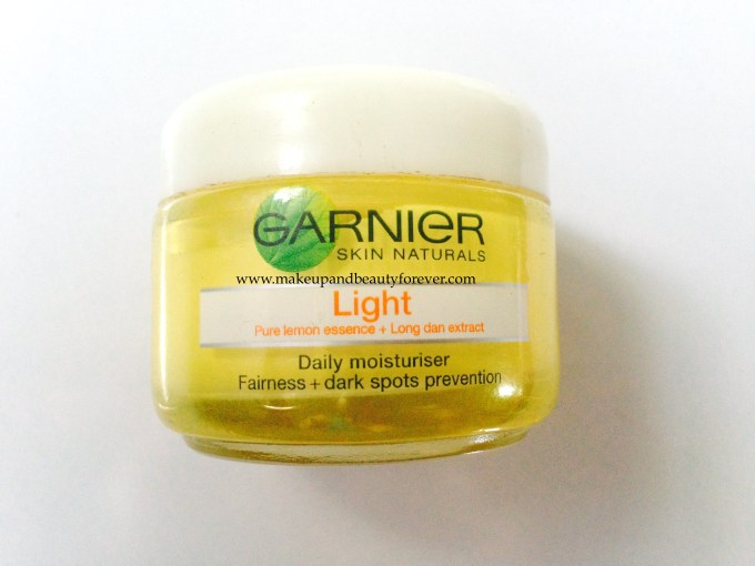 Garnier Skin Naturals Light Daily Moisturiser Fairness and Dark Spot Prevention Review