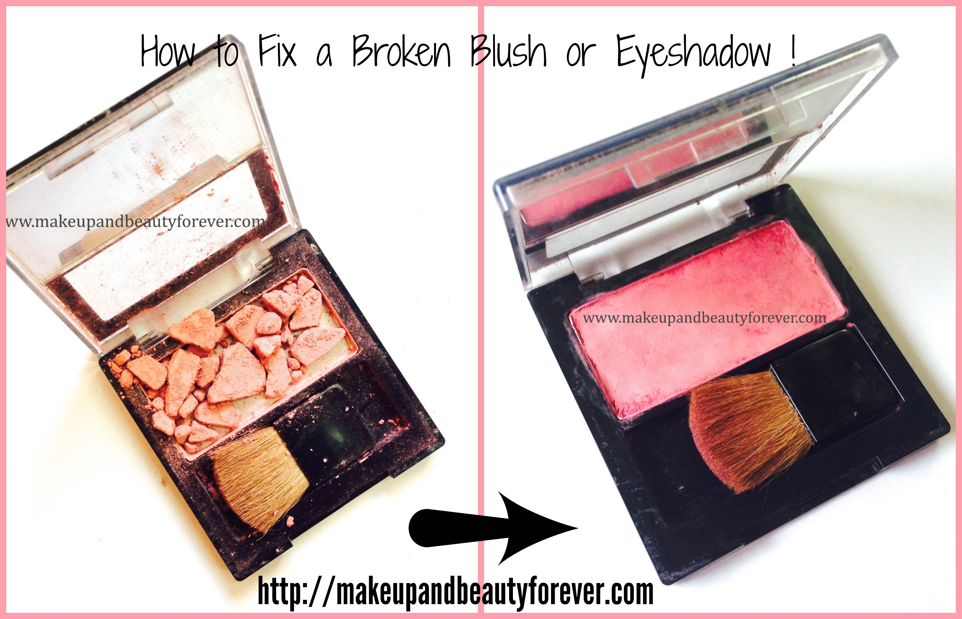 How to fix broken powder makeup with alcohol in four simple steps - How To Fix Broken Powder Makeup With Alcohol In Four Simple Steps 55