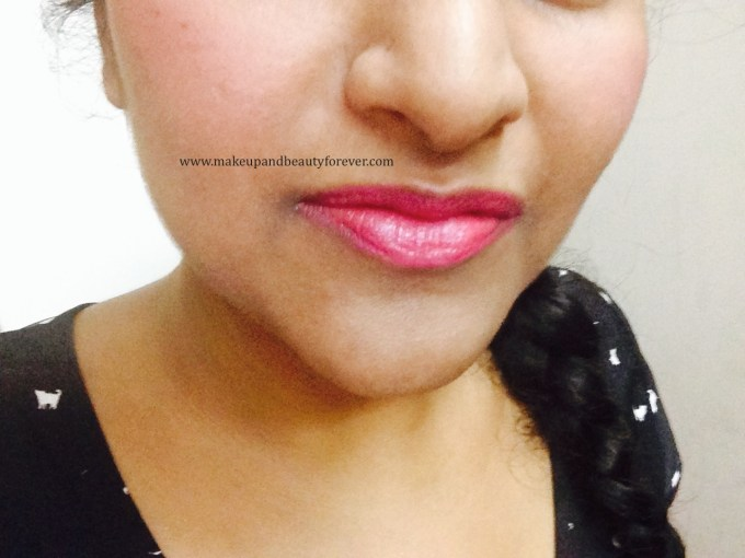 Maybelline Color Show Lipstick Plum-Tastic 402 Review Swatch, Price, FOTD