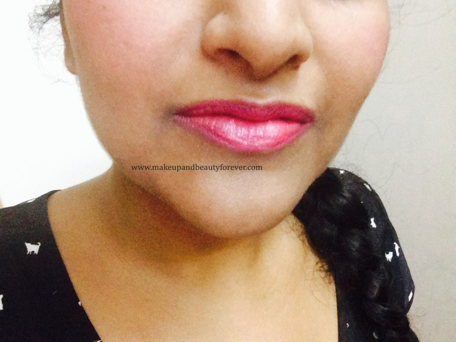 Maybelline Color Show Lipstick PlumTastic 402 Review, Swatch, Price, FOTD