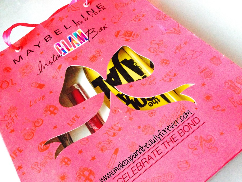 Maybelline InstaGlam Box - Celebration of Bonds Review