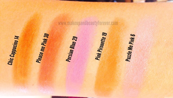 Street Wear Color Rich Ultramoist Lipsticks Review, Swatches, Shades, Price, and Details