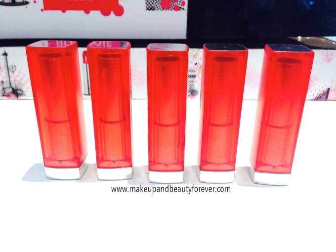 All Maybelline Bold Matte Colorsensational Lipsticks Review, Swatches, Shades, Price and Details