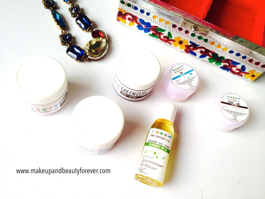 Beauty Wish Box October 2014 - Bridal Bliss by The Nature's Co products inside