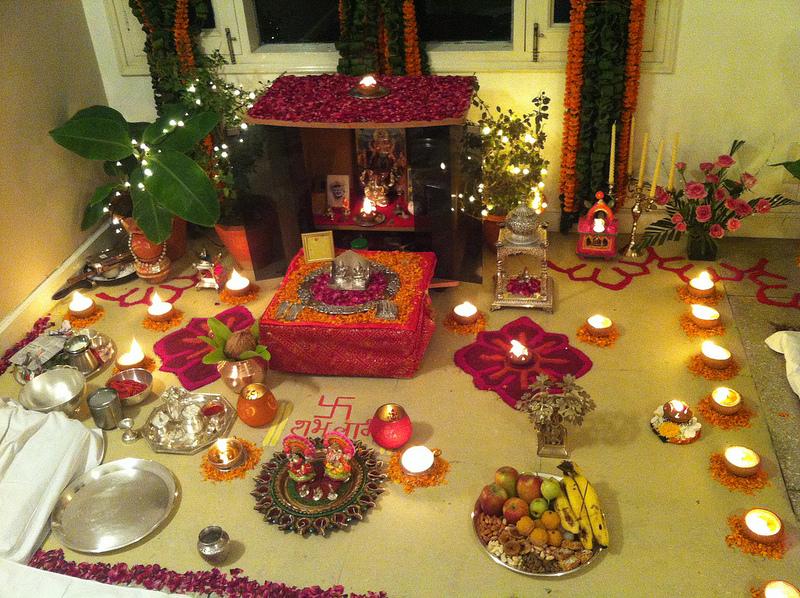 Diwali Pooja marwari style