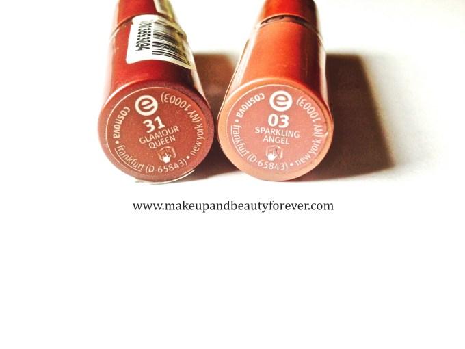 Essence Lipstick 03 Sparkling Angel Essence Lipstick 31 Glamour Queen