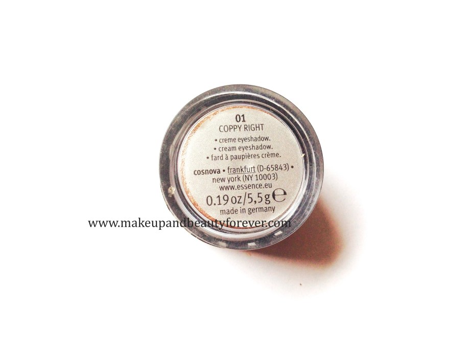 Essence Stay All Day Long Lasting Eye Shadow 01 Copy Right