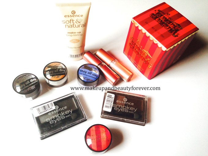 Essence cosmetics haul essence products available online buy in India