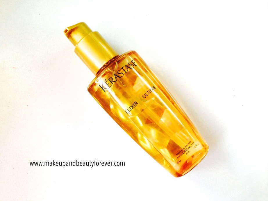 Kerastase Elixir Ultime by Loreal Paris Review Swatches India MBF