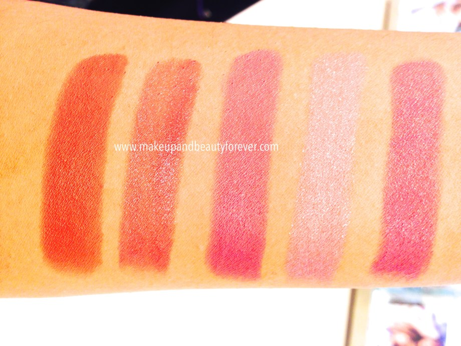 Lakme Absolute Creme Lipcolor Review, Shades, Swatches Price and Details