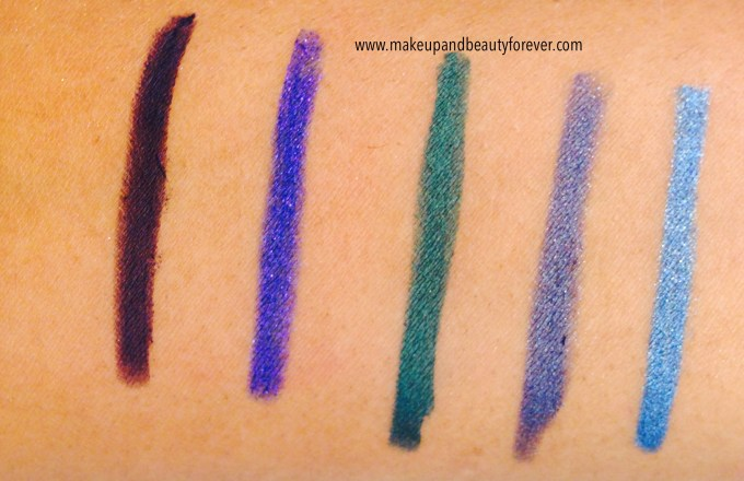 Lakme Absolute Forever Silk Eye Liner Review, Shades Swatches Price and Details