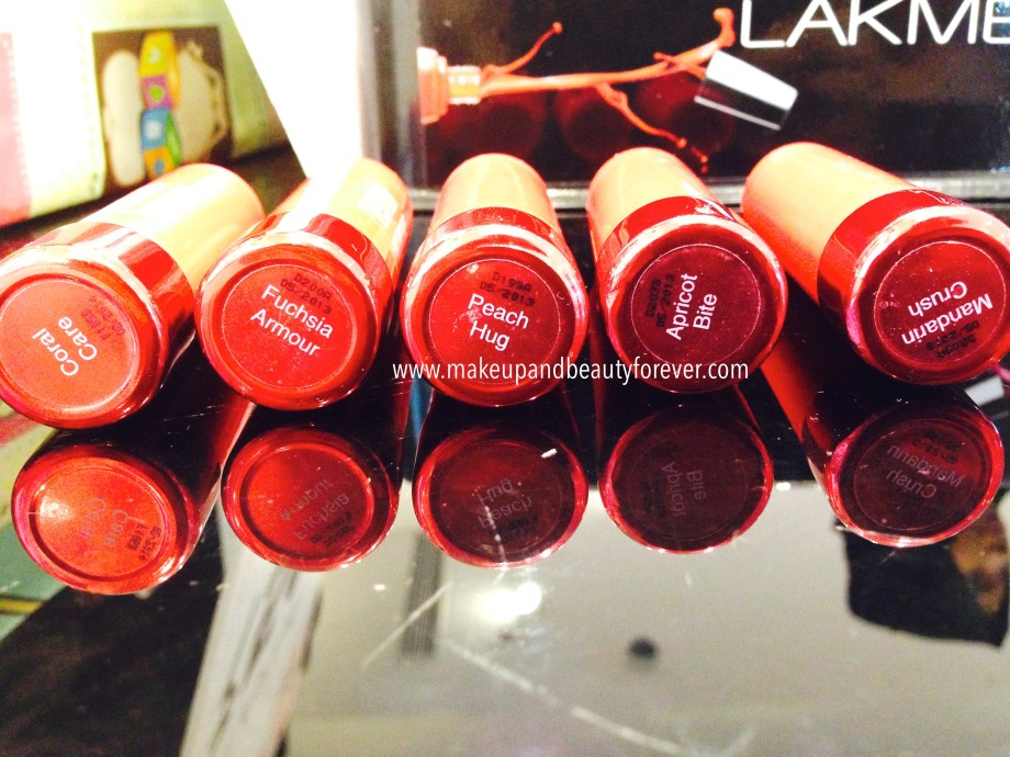 Lakme Lip Love Lipsticks Review Shades, Swatches, Price Details