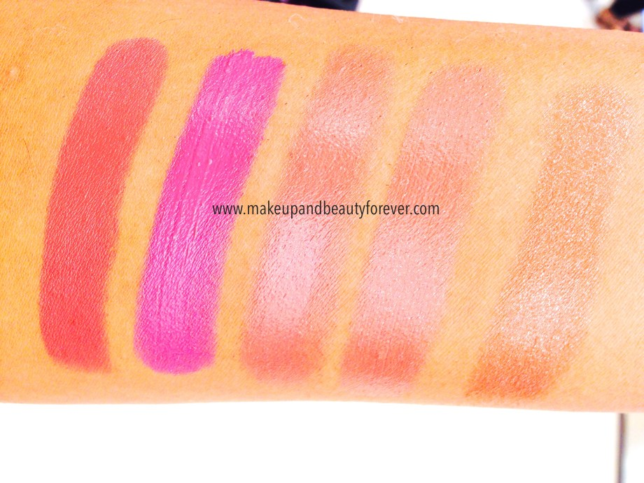 Lakme Lip Love Lipsticks Review, Shades, Swatches, Price Details
