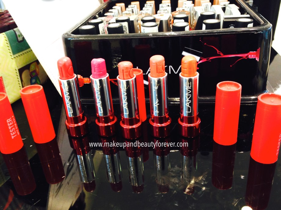 Lakme Lip Love Lipsticks Review, Shades, Swatches, Price and Details